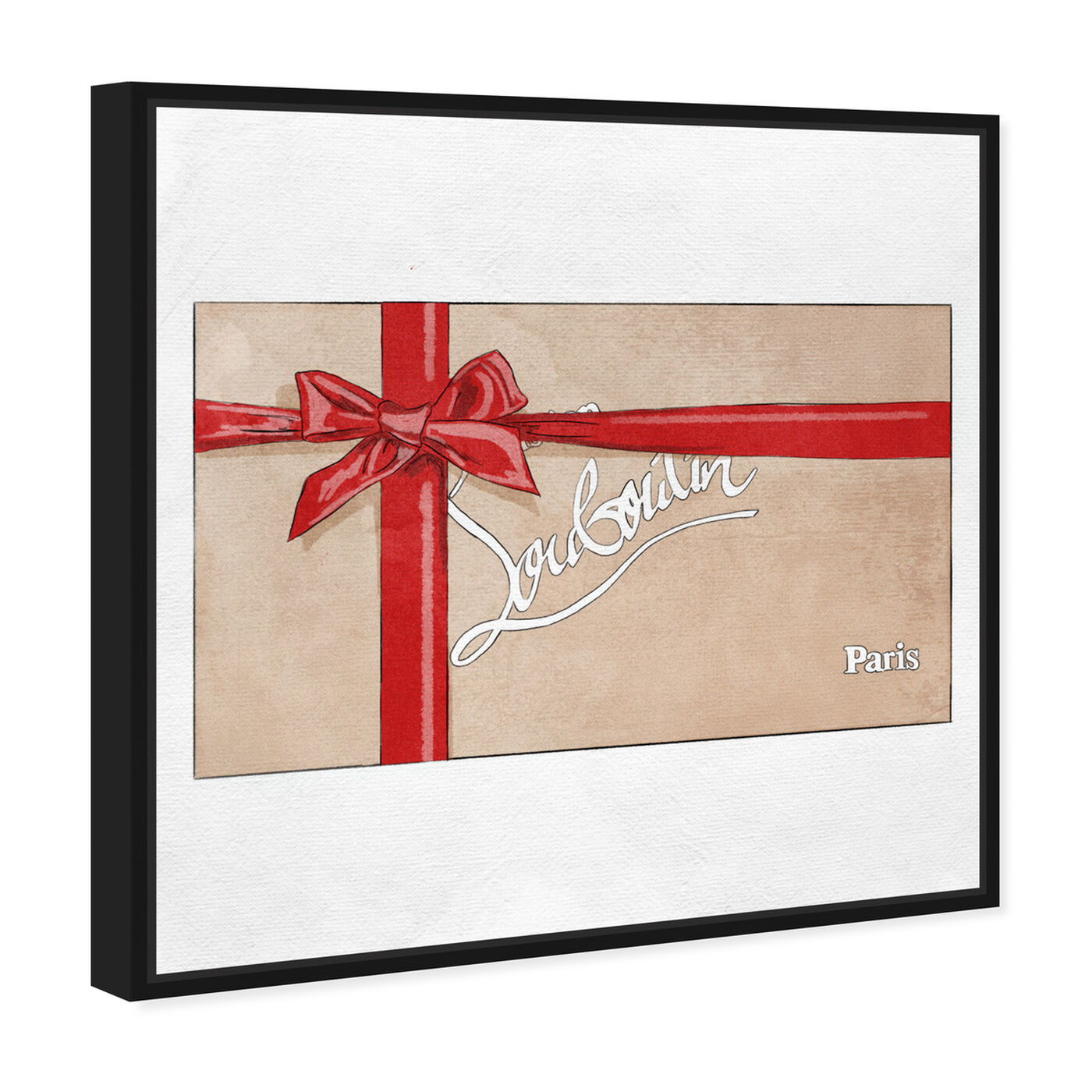 Angled view of Perfect Red Gift II featuring fashion and glam and fashion art.